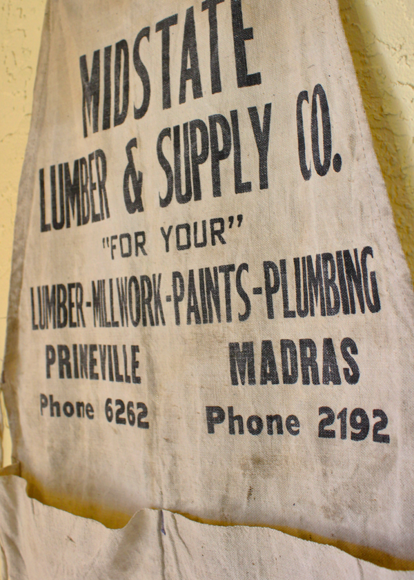 Midstate Lumber Supply Apron (2/2)