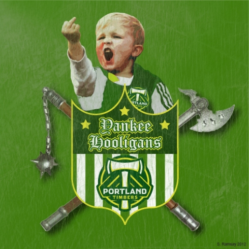 Yankee Hooligan's P-Town Timbers Supporters