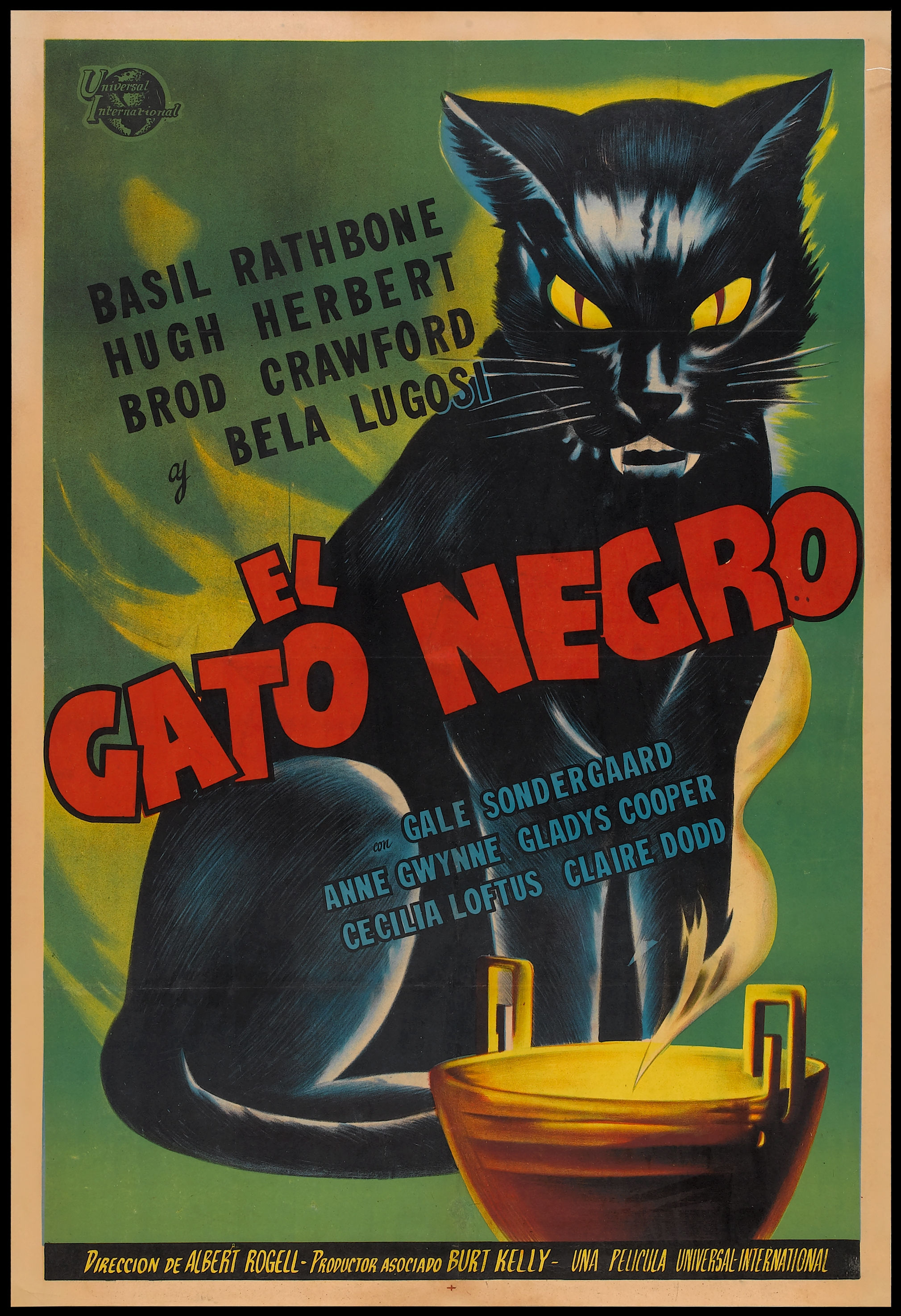 Black Cat Cafe Posters