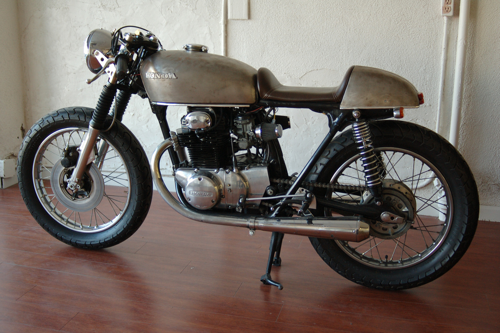 Honda Cb350 Cafe Racer Project Vintage Ocd
