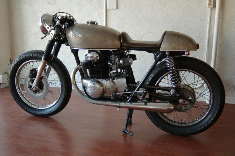 1970 Honda Cb350 Cafe Racer Seat Motorjdi Co