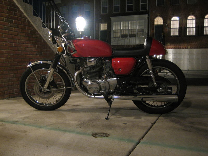 1971 Honda CB350 Cafe Racer Project - Inspiration (5/6)