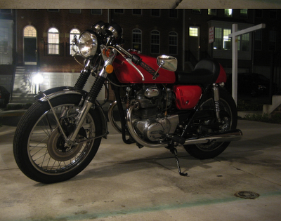 1971 Honda CB350 Cafe Racer Project - Inspiration (6/6)