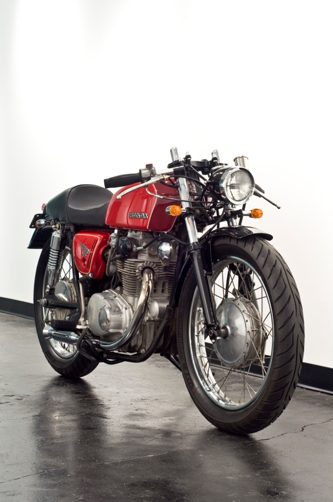 1971 Honda CB350 Cafe Racer Project - Inspiration (2/6)