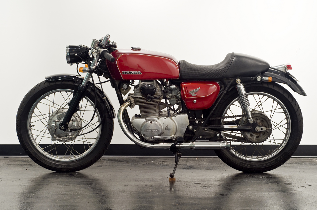 1971 Honda CB350 Cafe Racer Project Inspiration