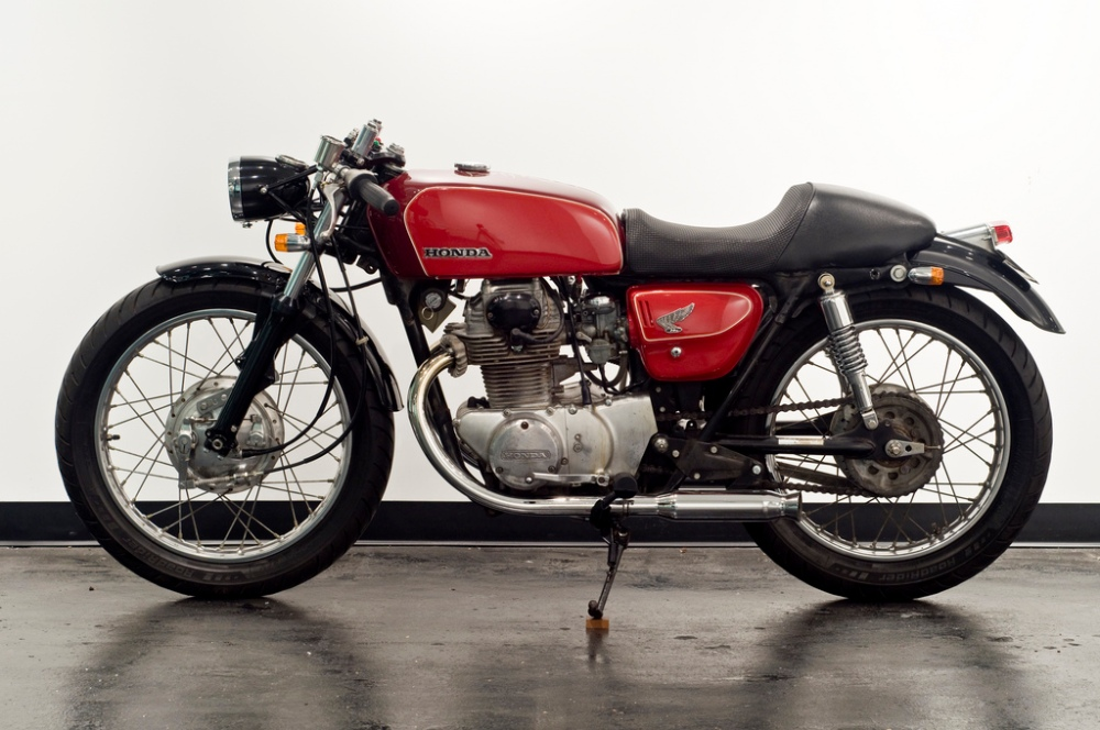 1971 Honda CB350 Cafe Racer Project - Inspiration (1/6)