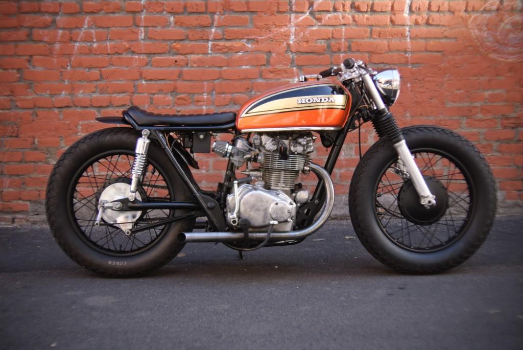 1974 Honda CB450 Cafe Racer
