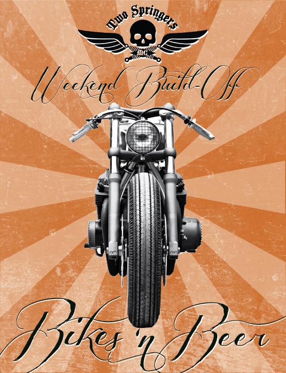 Two Springers Motorcycle Club Weekend Build Off