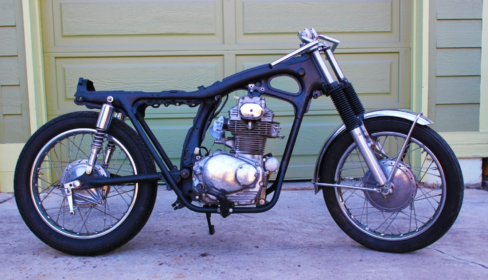 1971 Honda Cb350 Cafe Racer - Episode 5: Rolling Chassy (2/4)