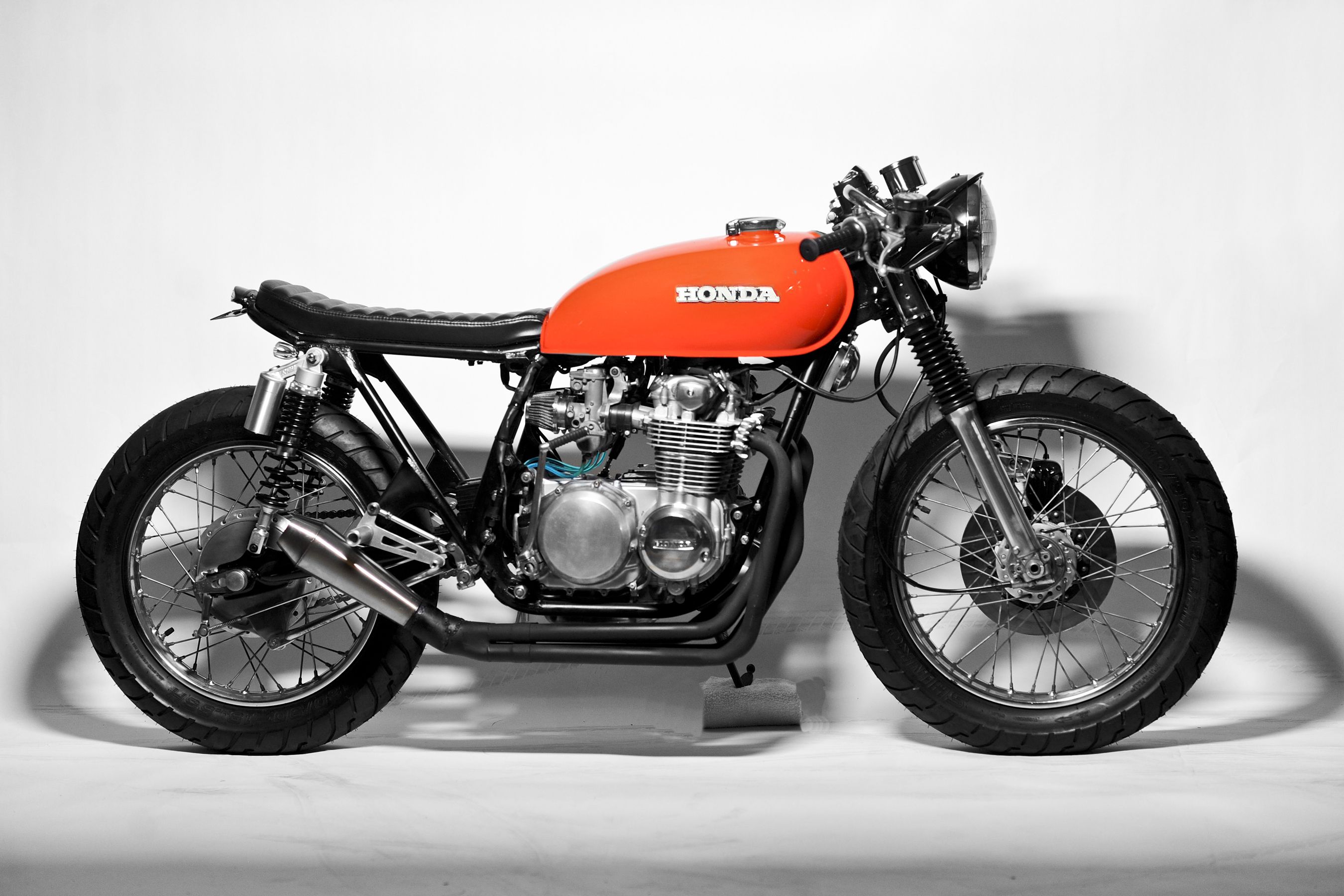 honda cb350 cafe racer project vintage ocd. Black Bedroom Furniture Sets. Home Design Ideas