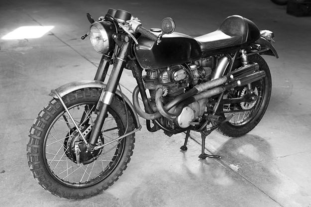 Honda CB350 Cafe Racer project Inspiration - Girl With The Dragon Tattoo (1/6)