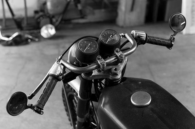 Honda CB350 Cafe Racer Project