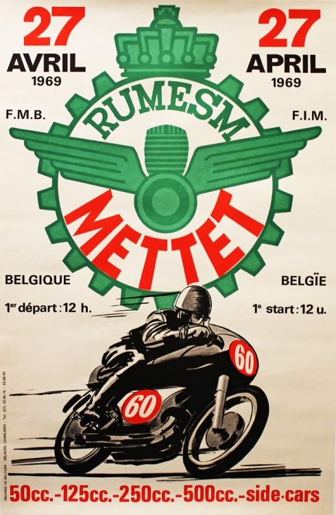 Cafe Racing Poster