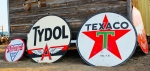 Vintage Porcelain Gas Signs