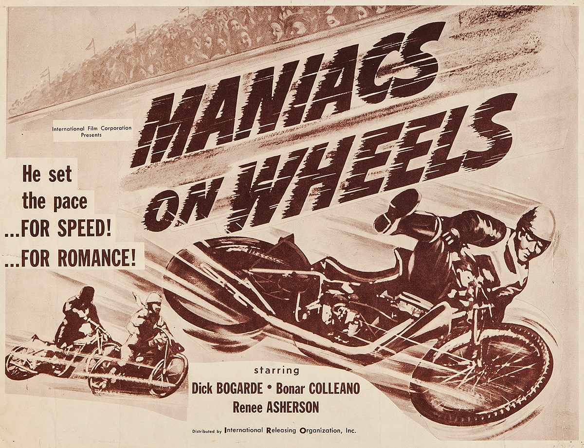 Vintage racing films was and