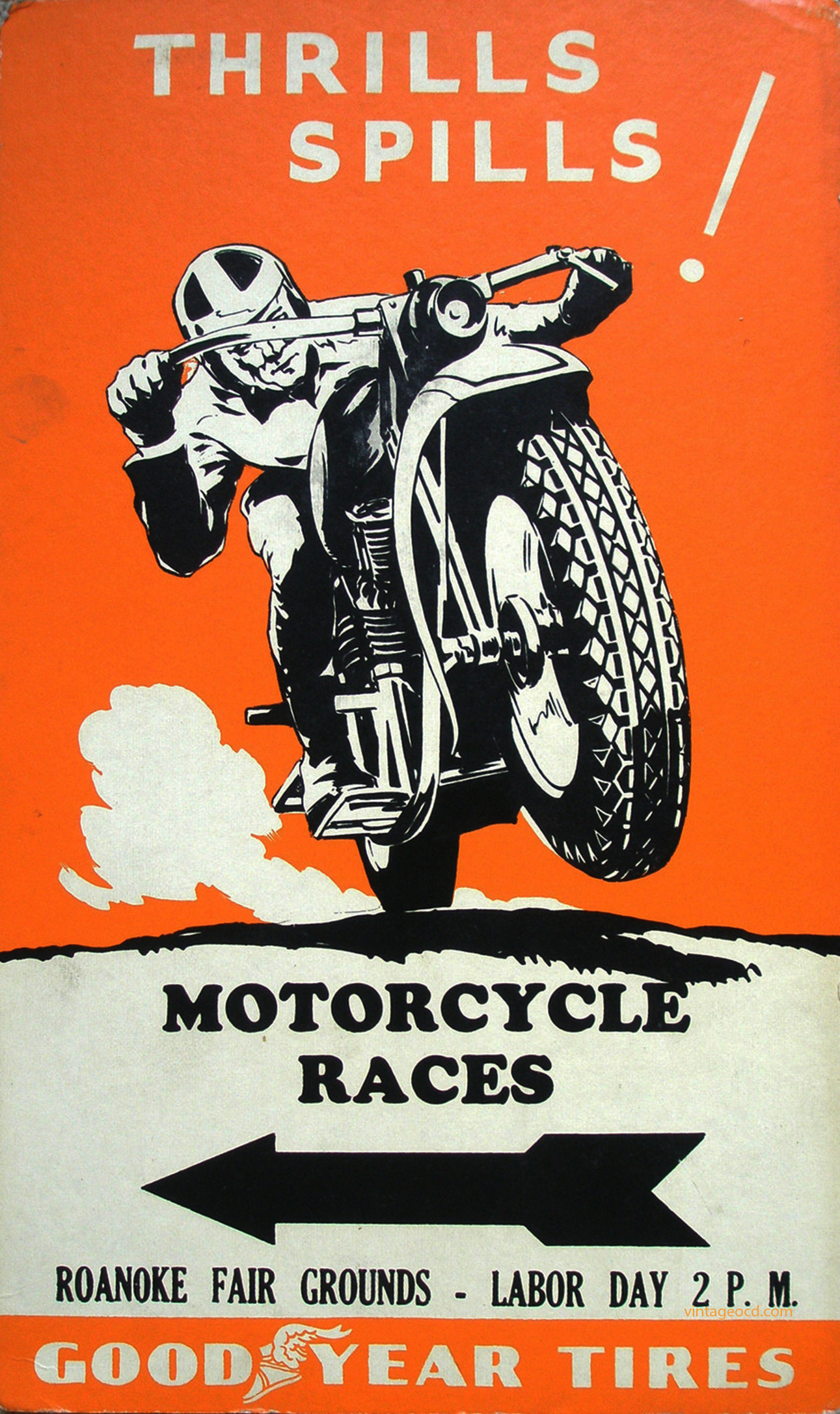 Motorcycle Bike Cycles Moto Cross Race Fashion Vintage Poster Repro FREE S//H