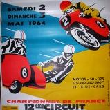 Bourg En Bresse Motorcycle Poster