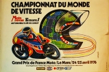 De Vitess Motorcycle Poster