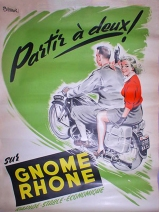 Gnome Rhone Motorcycles Poster
