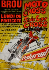 Moto Cross Motorcycle Poster