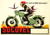 Socovel Motorcycle Poster