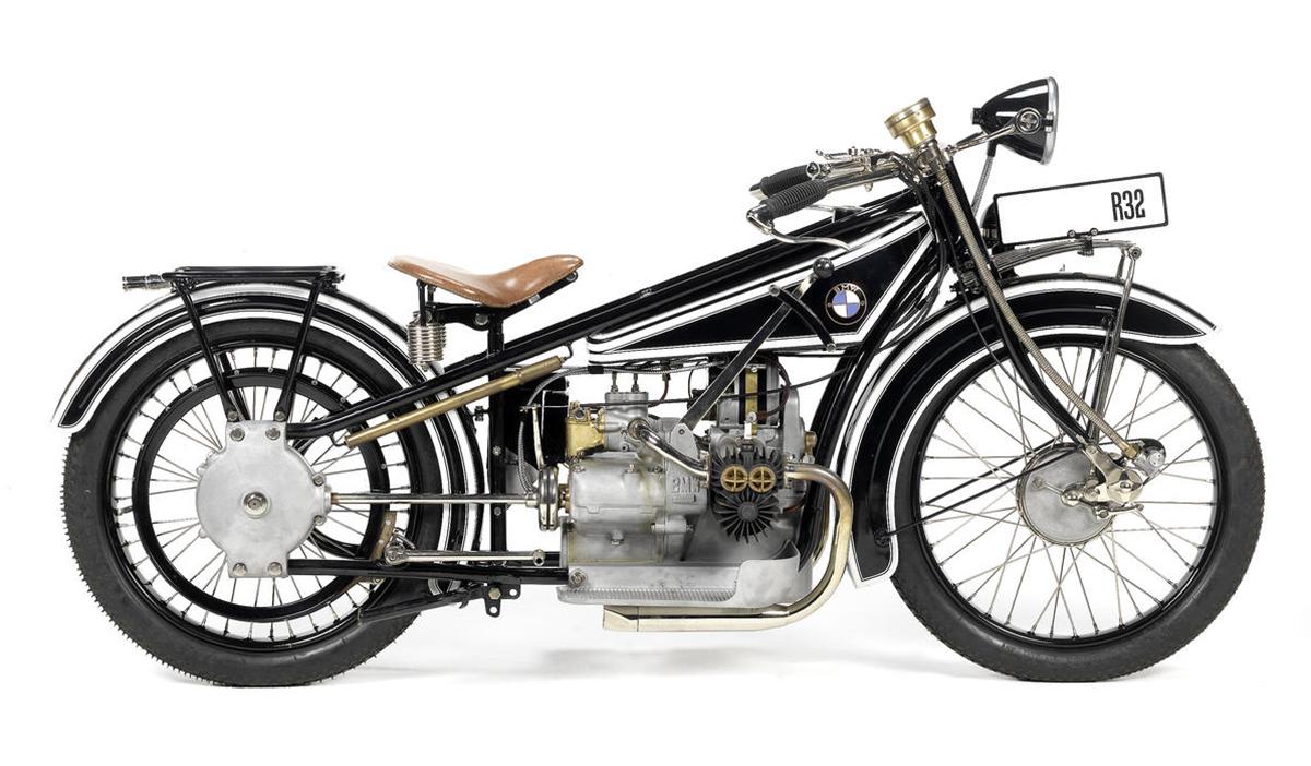 1924 Bmw R32 Vintage Ocd