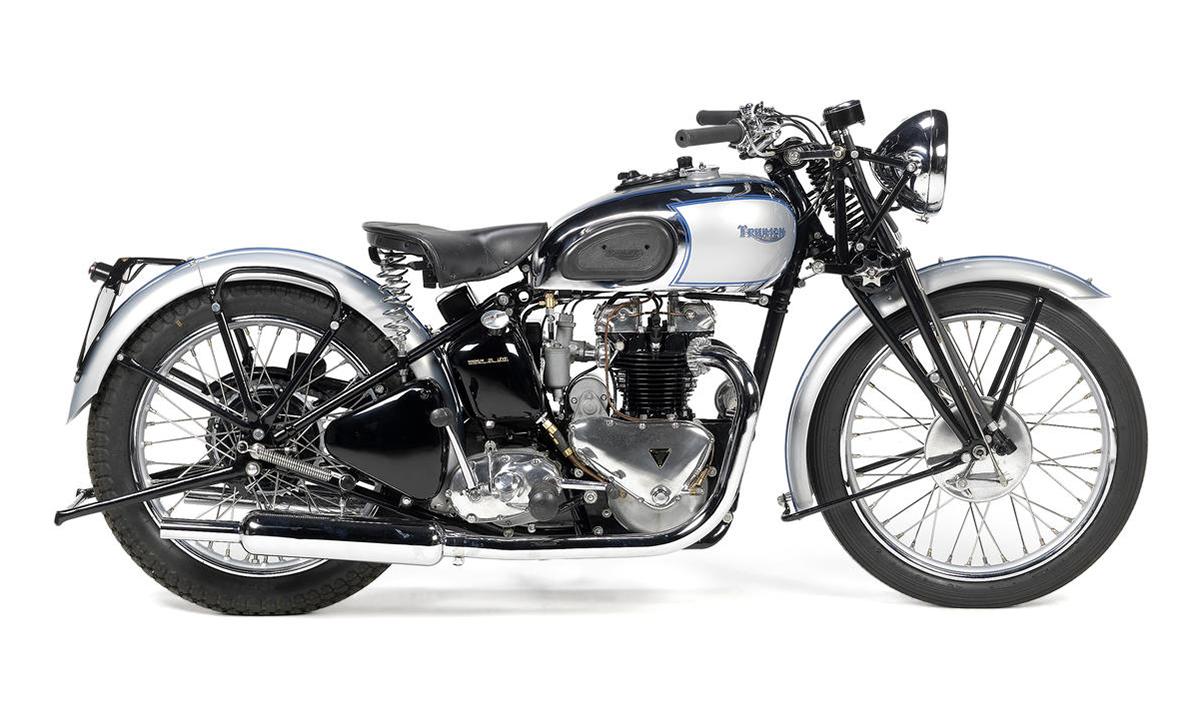 1939 Triumph Tiger Motorcycle Vintage Ocd