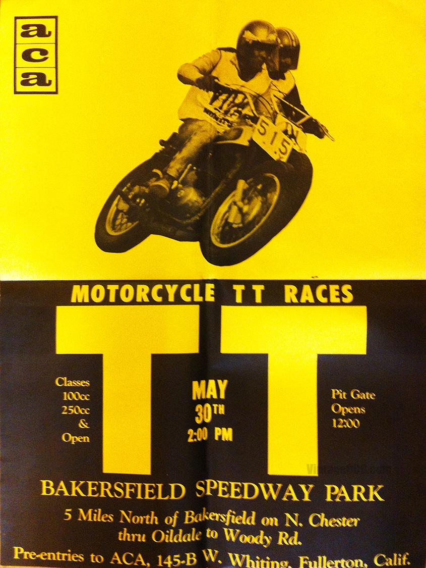 Vintage 1960 S Motorcycle Poster Treasure Trove Vintage Ocd