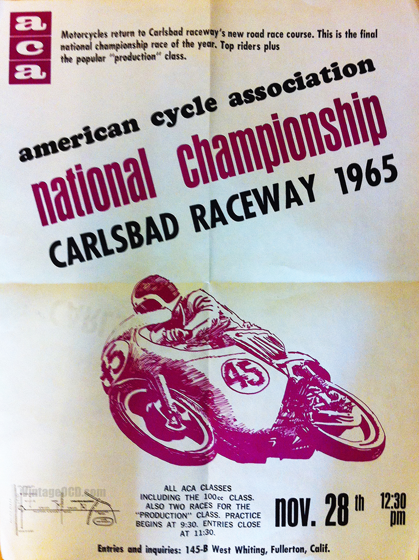 Vintage 1960's Motorcycle Poster Treasure Trove | Vintage OCD
