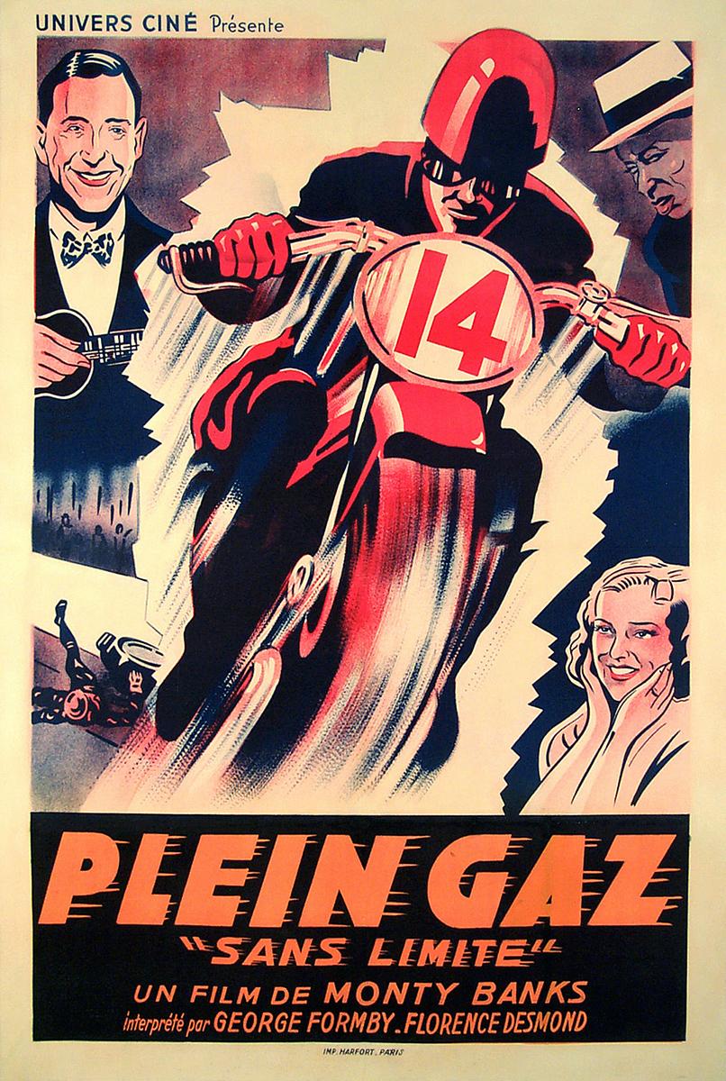 Vintage racing films