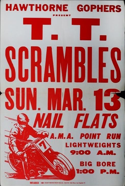 TT Scrambles Poster