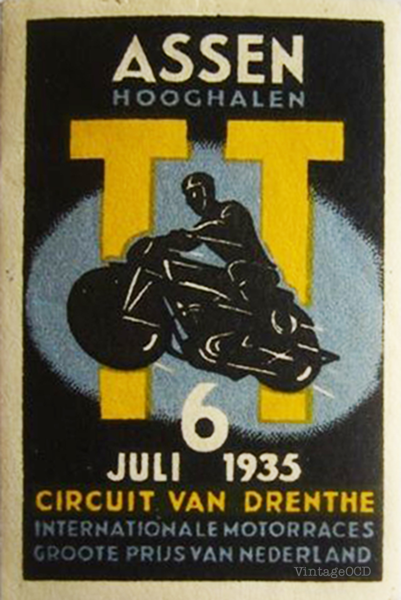french motorcycle poster | Vintage OCD