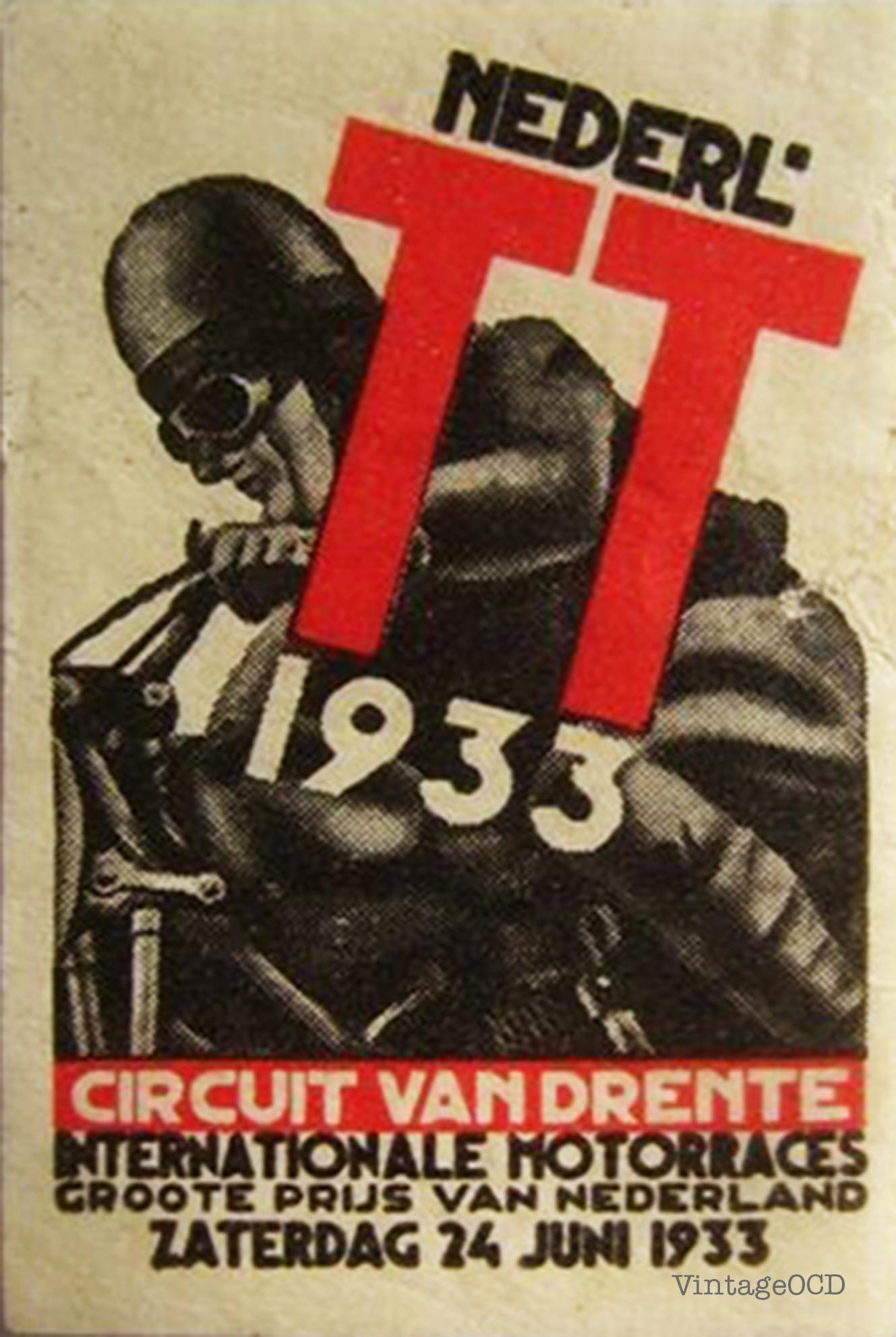 Vintage Motorcycle Racing Posters 102