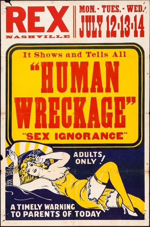 Human Wreckage 1sht