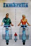Moto Poster Lambretta