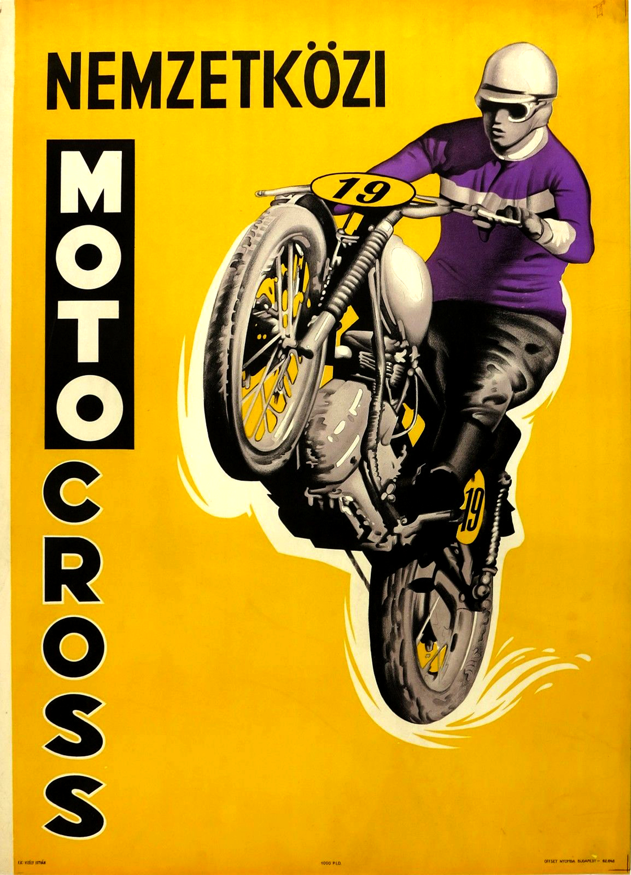 Moto Posters Vintage Ocd