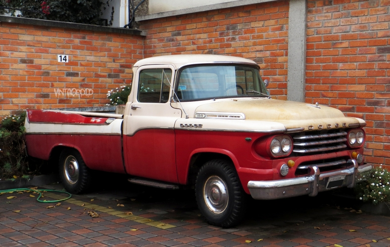 1958 Dodge D100 Sweptside