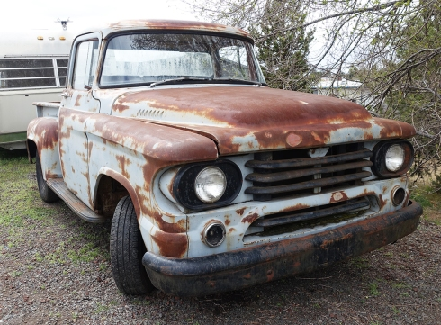 58 Dodge d-100 Step-Side