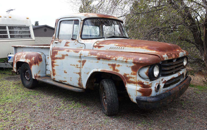 1958 Dodge Step-Side Project   Vintage OCD