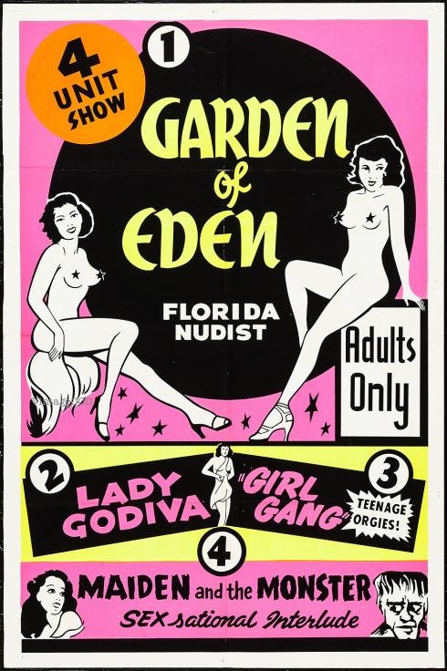 Garden Of Eden 1sht VOCD