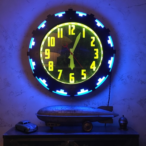 Cleveland Neon Clock