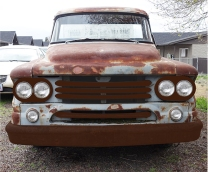 1958 Dodge D100 Mock-up Front 1