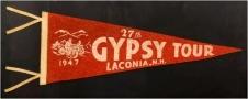 Gypsy Tour 1947 Pennant