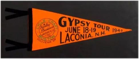 Gypsy Tour 1949 Harley Pennant