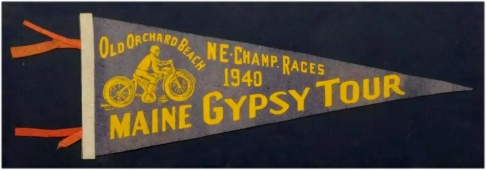 Maine Gypsy Tour 1940 Pennant