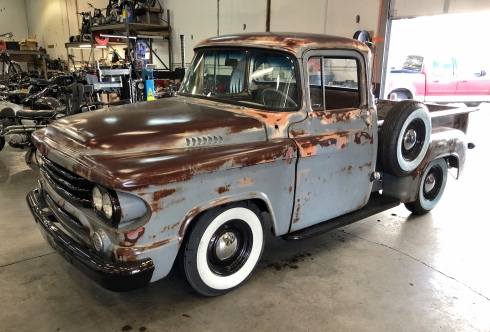1958 Dodge D100 Step Side 2